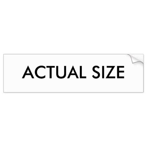 Size Stickers
