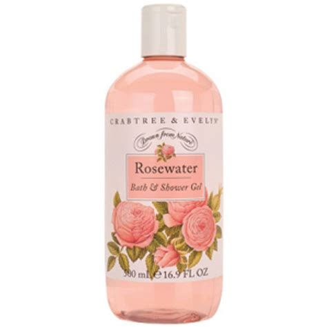 crabtree rosewater bath shower gel 500ml reviews free shipping lookfantastic