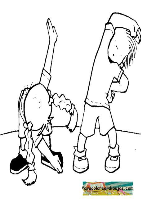 imagenes niños haciendo deporte para colorear ni 241 os haciendo ejercicio dibujos images