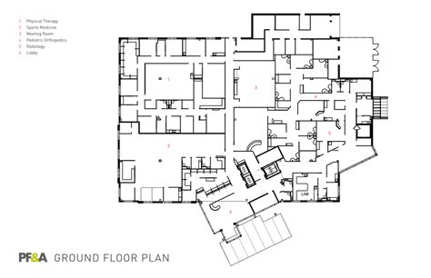 ambulatory surgery center floor plans health surgery center at princess anne chkd pf a design