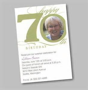 70 Birthday Invitation Template by 70th Birthday Invitations Invitations Templates