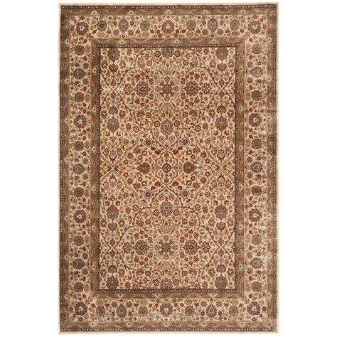 4 x 5 area rugs safavieh garden ivory 4 ft x 5 ft 7 in area rug peg606c 4 the home depot