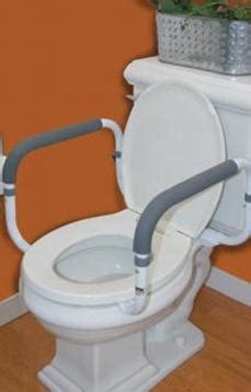 toilet support adjustable width rail