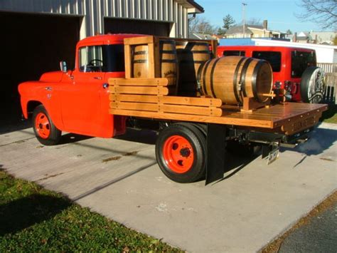 gmc crate motor 1958 gmc 3 4 ton stake truck new 350 crate motor and