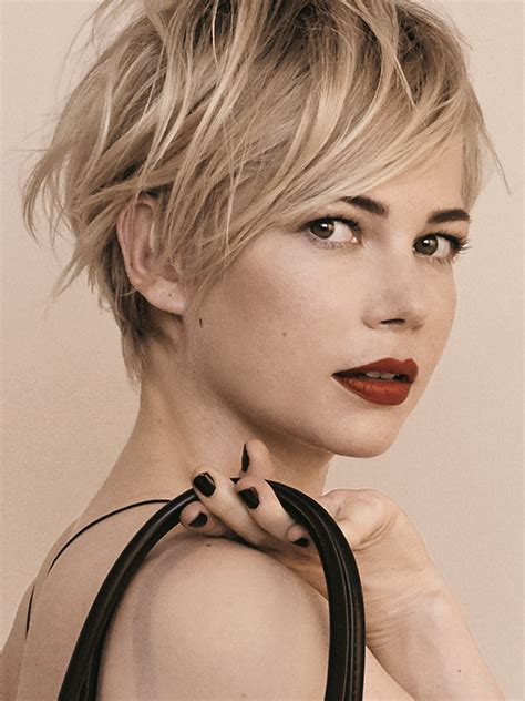 growing hair from pixie style to long style q how should i grow out my pixie cut michelle williams