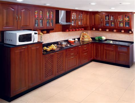 Wooden Kitchen Designs by Solid Wood Kitchen Design Stylehomes Net