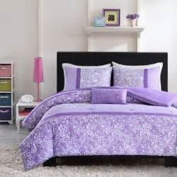 shop mizone purple comforter collection the home