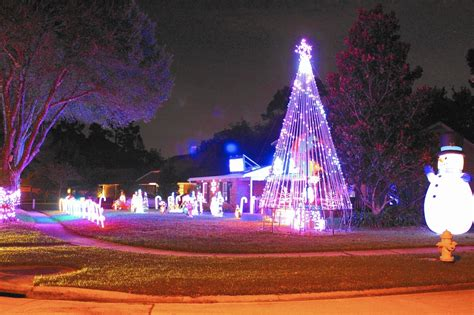 best christmas lights around central florida orlando