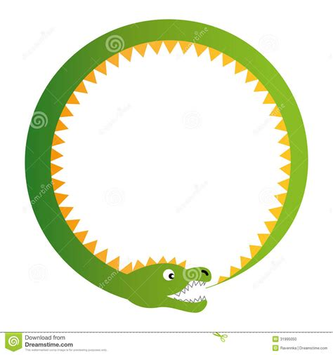 Ouroboros Illustration Stock Photo   Image: 31995050