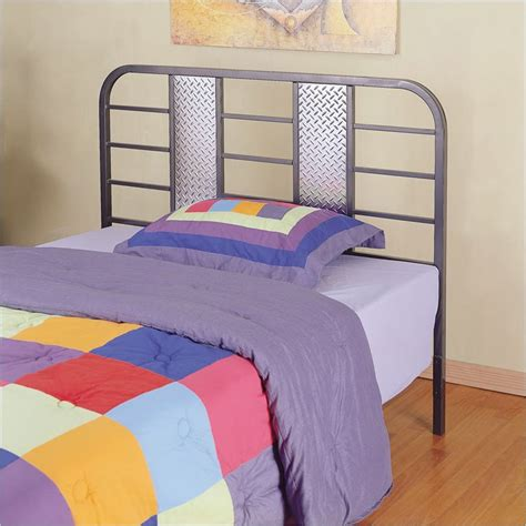 full size metal headboards powell furniture monster bedroom 174 metal twin or full size