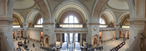 Metropolitan Museum Of Interior by Panoramic Photography Jacob Ny Nyc