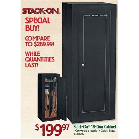 Gun Cabinet Black Friday by Stack On 18 Gun Cabinet 199 97 Bass Pro Black Friday