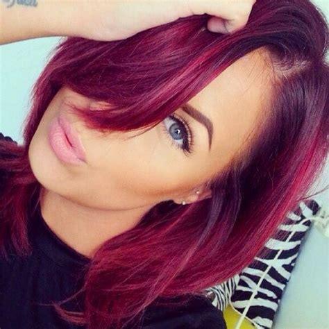i want to get my weave cut into a bob hairstyle cheveux framboise la couleur qui cartonne en 2016