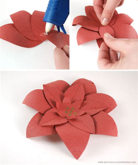 diy crafts festive seed paper flower wreath