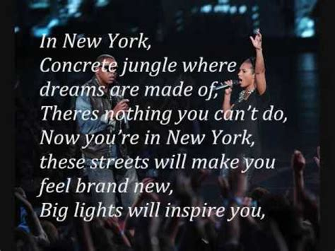 empire state of mind testo empire state of mind z ft w lyrics