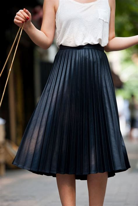 zara zarapictures plisse skirt but at