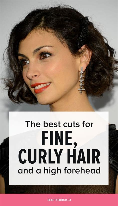 hairstyles for high forehead and fine hair best 25 fine curly hair ideas on pinterest short hair