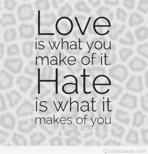 images of love vs hate love vs hate winter 2016 quote