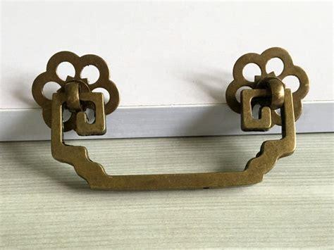 vintage style dresser drawer pulls 2 75 quot vintage style copper dresser pull drawer pulls