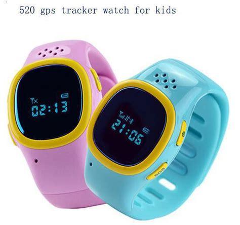 520 gps Watch tracker for Kids Wristwatch GPS Tracker Smart Watchs Anti Lost Smartwatch Wearable