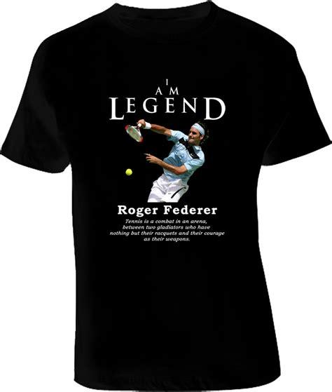 Tshirt Roger Federer roger federer legend tennis t shirt