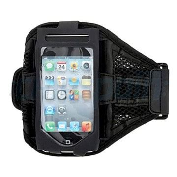 Armband Iphone 55s Silver armband sport iphone 5 5s 5c se black chipspain