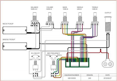 ibanez gio bass wiring diagram
