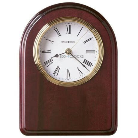 honors desk howard miller honor iv desk clock 625 258 625258