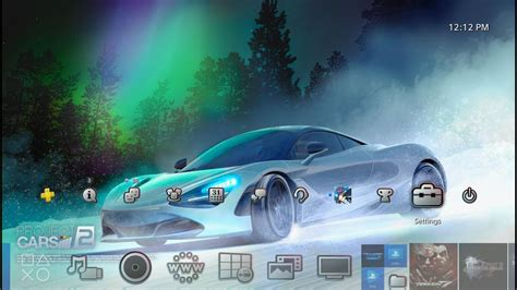 ps4 themes cars project cars 2 dynamic theme ps4 youtube