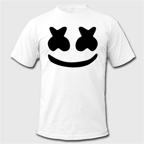 T Shirt Kaos Dj Marshmello 1 marshmello t shirt spreadshirt