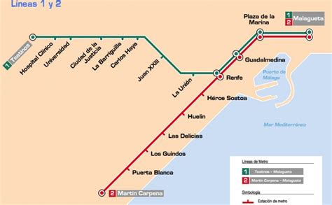 Metro Search Malaga Metro Schedules Tickets Maps Lines And Routes