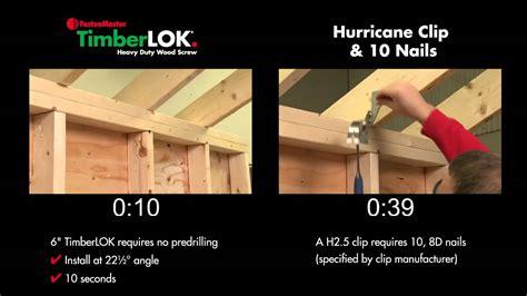 Timberlok 6 Hurricane Tie Replacement Fastenmaster | timberlok 6 hurricane tie replacement fastenmaster