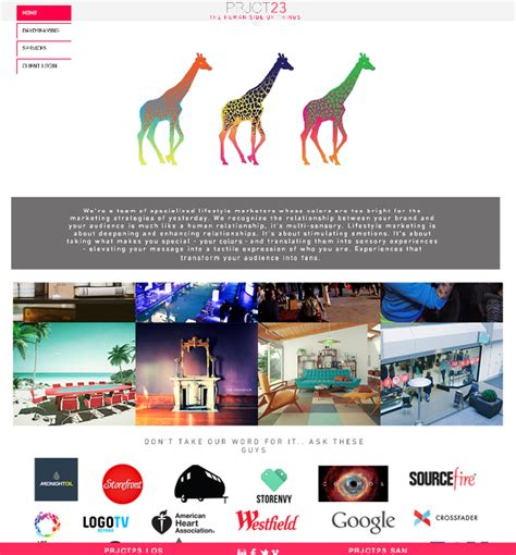 11 Wix Website Exles Created From A Single Template One Page Website Template Wix