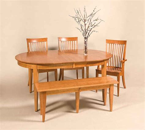 amish dining room set amish made diningroom sets