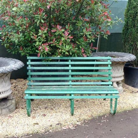 reclaimed garden bench  sale  salvoweb  vv