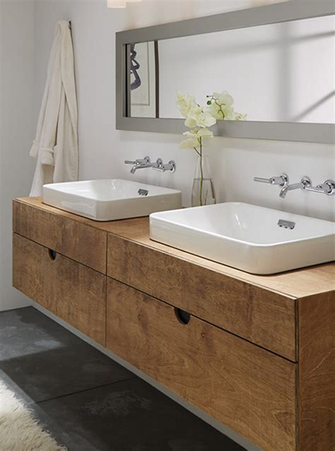 mobile bagno legno mobile arredo bagno sospeso in legno multistrato mobile
