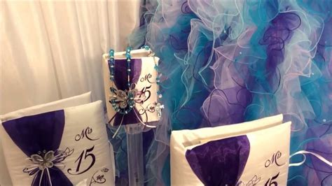 special quinceanera butterfly theme package  youtube