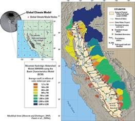 map of central valley california water use and climate change in california s central
