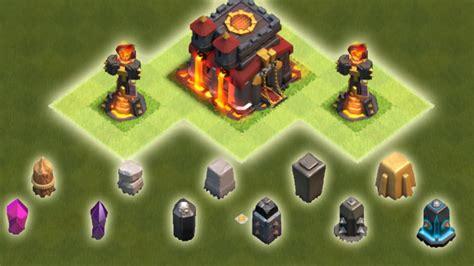 Abon Level 1 mauer level 1 bis maxed clash of clans troll