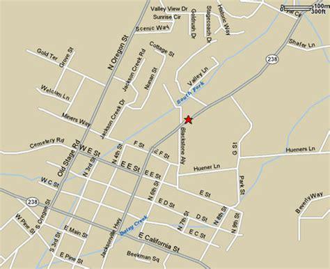 map of jacksonville oregon jville tax