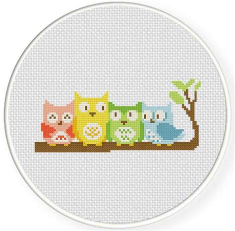 cross stitch templates free 25 unique cross stitch owl ideas on easy