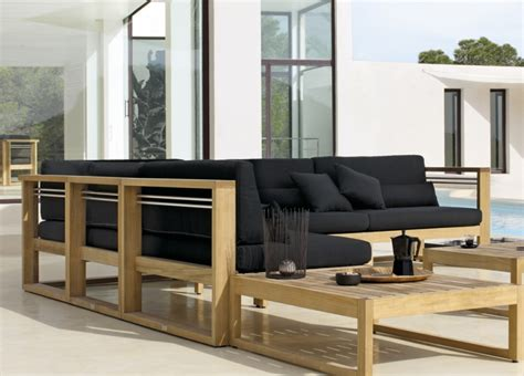 Loungemöbel Holz Outdoor by Outdoor Lounge Mobel Aus Holz Bvrao