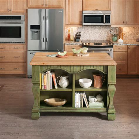 jeffrey kitchen island jeffrey tuscan kitchen island with maple edge grain butcher block top