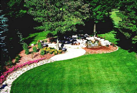 Landscaping Ideas Large Gardens Gorgeous Large Front Yard Landscaping Backyard Landscape