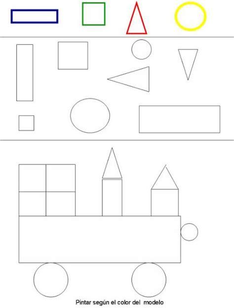 figuras geometricas rectangulares figuras geom 233 tricas dibujos para colorear ciclo escolar