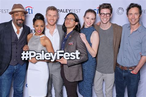 The Flash Secrets Revealed At Paleyfest With Cast And Cast Of The With The