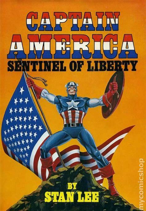 Captain America Sentinel Of Liberty Hc Marvel Comics captain america sentinel of liberty hc 1979 fireside