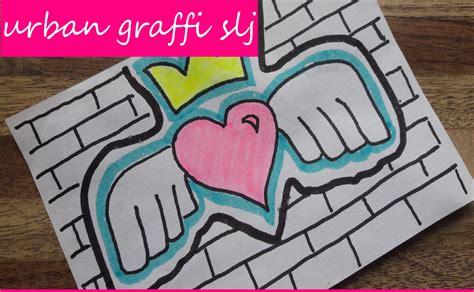 graffitis de corazn speed art como dibujar graffitis de amor como dibujar