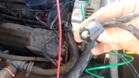 wire   external voltage regulator  dodge