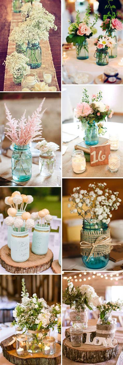 wedding reception centerpieces with jars 50 best rustic wedding ideas with jars stylish wedd